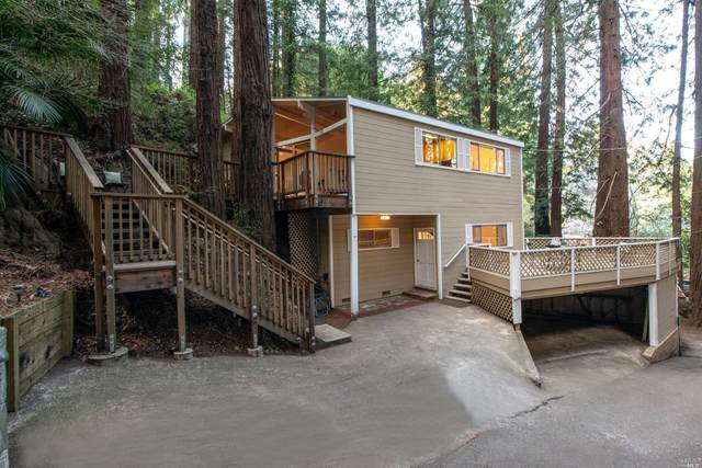 2 Redwood Lane, Mill Valley, CA 94941 (#22004008) :: RE/MAX GOLD