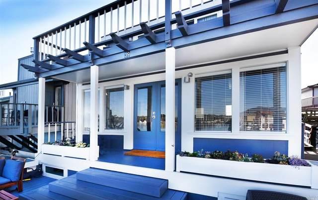 39 Issaquah Dock, Sausalito, CA 94965 (#22005712) :: Hiraeth Homes