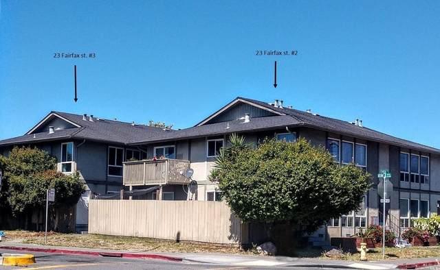23 Fairfax Street 3C, San Rafael, CA 94901 (#22011402) :: Rapisarda Real Estate