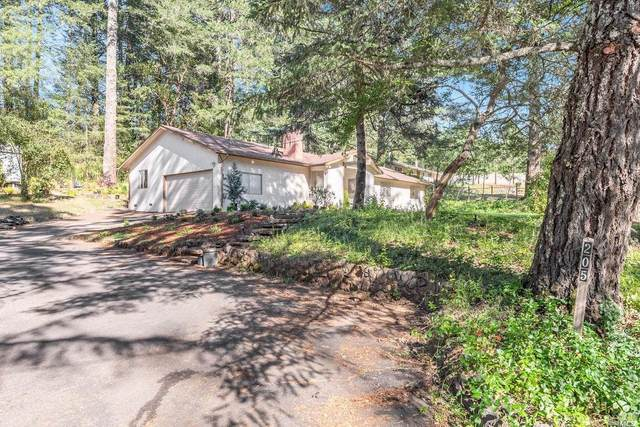 205 Cold Springs Road, Angwin, CA 94508 (#22011644) :: Intero Real Estate Services