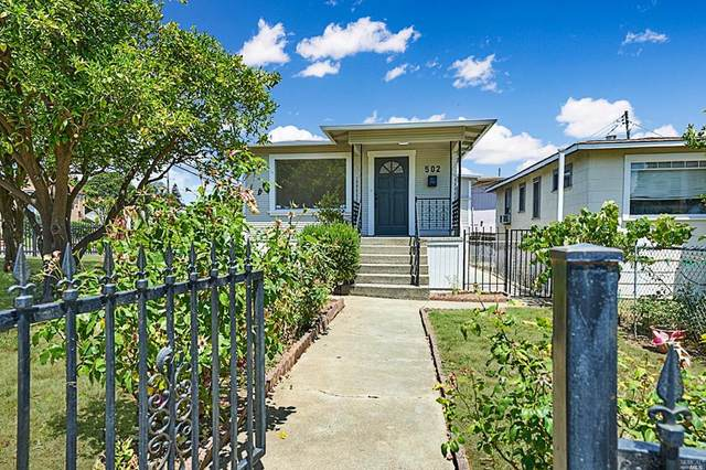 502 Indiana Street, Vallejo, CA 94590 (#22012561) :: Hiraeth Homes