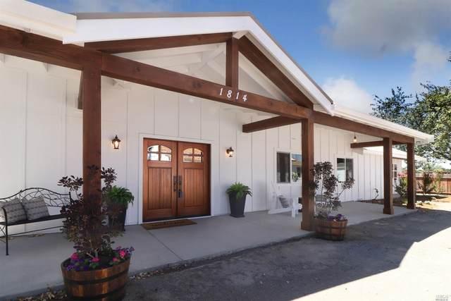 1814 Wood Road, Fulton, CA 95439 (#22017887) :: Intero Real Estate Services
