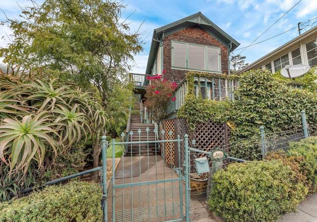 315 4th Street, Sausalito, CA 94965 (#22021255) :: Golden Gate Sotheby's International Realty