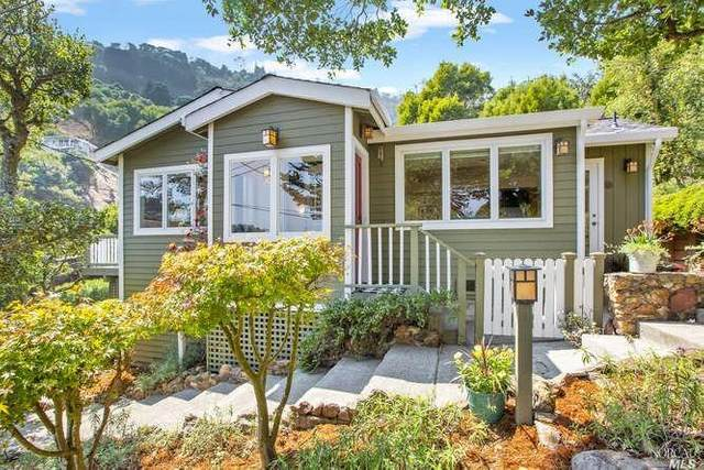 1 Lower Crescent Avenue, Sausalito, CA 94965 (#22021355) :: Golden Gate Sotheby's International Realty