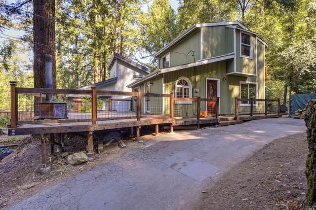 10992 Ogburn Lane, Forestville, CA 95436 (#22023967) :: Corcoran Global Living