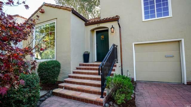 37 Morningside Drive, San Anselmo, CA 94960 (#22025624) :: Corcoran Global Living