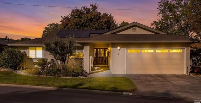90 Oak Island Place, Santa Rosa, CA 95409 (#22027281) :: Hiraeth Homes