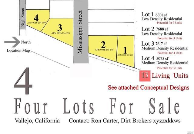 0 Mississippi Street Lot2, Vallejo, CA 94590 (#22027976) :: Hiraeth Homes