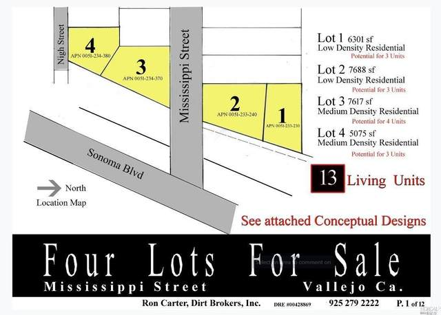 0 Mississippi Street Lot4, Vallejo, CA 94590 (#22027997) :: Hiraeth Homes