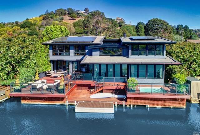 86 Lagoon Road, Belvedere, CA 94920 (#22028483) :: Hiraeth Homes