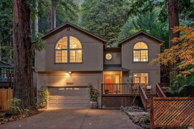 14541 Old Cazadero Road, Guerneville, CA 95446 (#22028882) :: Jimmy Castro Real Estate Group