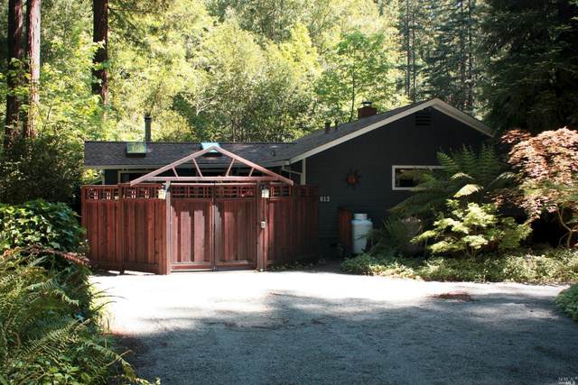15613 Old Cazadero Road, Guerneville, CA 95446 (#321035763) :: The Abramowicz Group