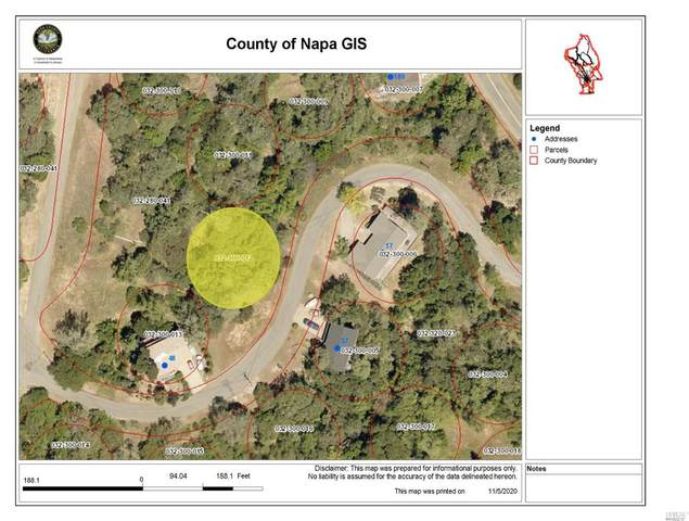 0 Sunnyhill Lane, Napa, CA 94558 (#321039824) :: Team O'Brien Real Estate