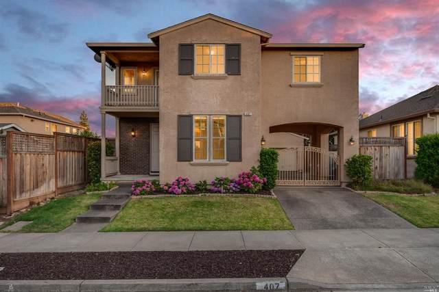 407 Goblet Place, Windsor, CA 95492 (#321057678) :: Team O'Brien Real Estate