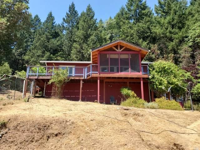 18299 Mariposa Creek Road, Willits, CA 95490 (#321066430) :: Golden Gate Sotheby's International Realty