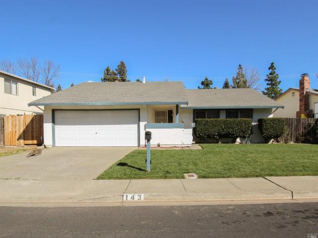143 Lakehurst Drive, Vacaville, CA 95687 (#21903176) :: W Real Estate | Luxury Team