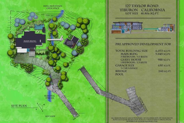 127 Taylor Road, Tiburon, CA 94920 (#21905798) :: Rapisarda Real Estate