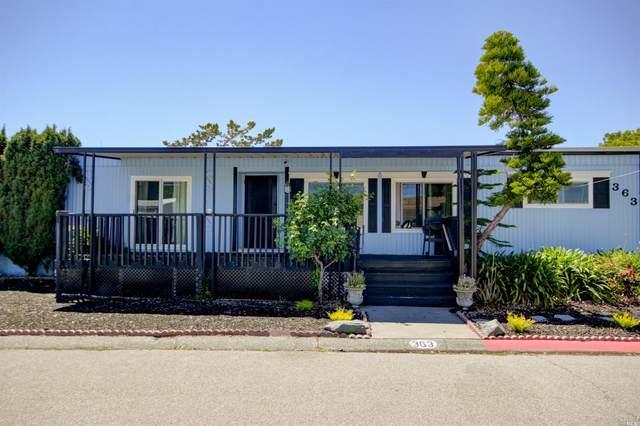 363 Glacier Way, San Rafael, CA 94903 (#21916884) :: Team O'Brien Real Estate
