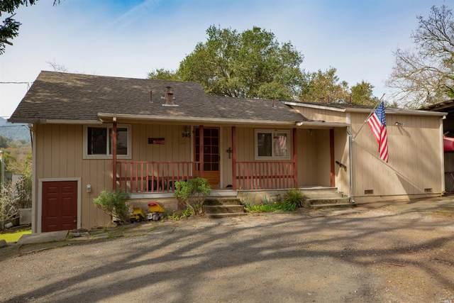 945 Carquinez Avenue, Glen Ellen, CA 95442 (#22009059) :: Team O'Brien Real Estate