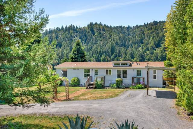 16554 Laughlin Road, Guerneville, CA 95446 (#321033350) :: The Abramowicz Group