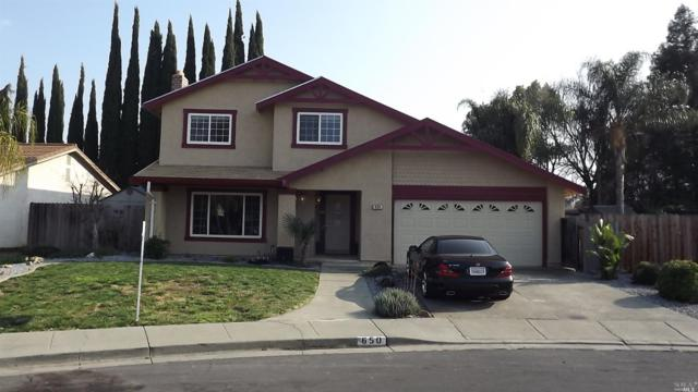 650 Carson Court, Vacaville, CA 95687 (#21901495) :: Rapisarda Real Estate