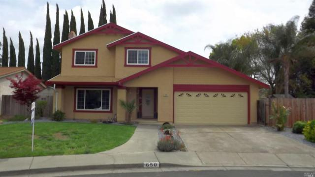 650 Carson Court, Vacaville, CA 95687 (#21901495) :: RE/MAX GOLD
