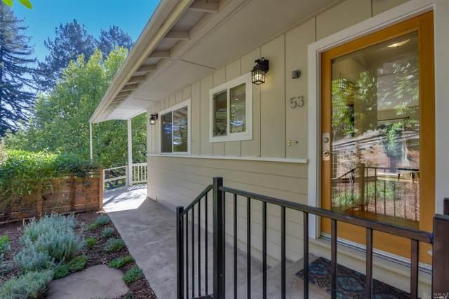 53 Canyon Road, San Anselmo, CA 94960 (#22025614) :: Corcoran Global Living