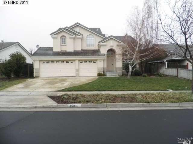 1581 Northwood Drive, Fairfield, CA 94534 (#21829263) :: Windermere Hulsey & Associates