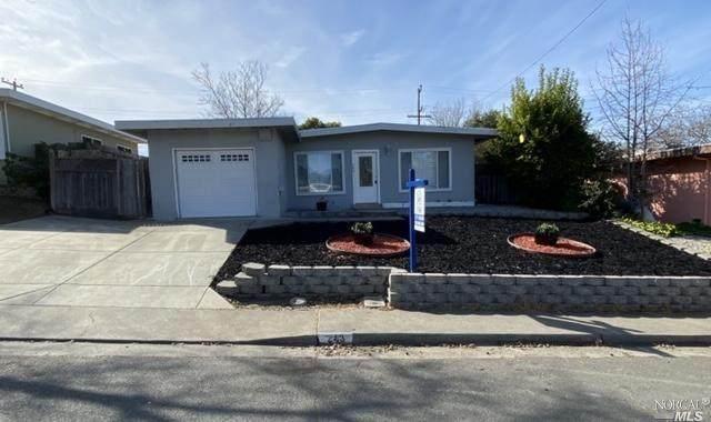 243 Los Cerritos Drive, Vallejo, CA 94589 (#22003886) :: Rapisarda Real Estate