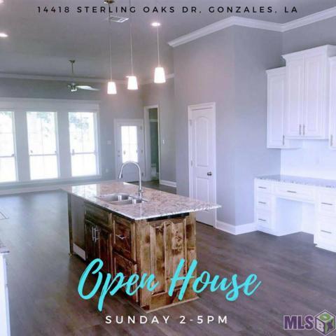 14418 Sterling Oaks Dr, Gonzales, LA 70737 (#2018004950) :: Smart Move Real Estate