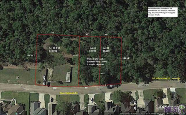 Lot 60 River Highlands, St Amant, LA 70774 (#2017011238) :: Darren James & Associates powered by eXp Realty