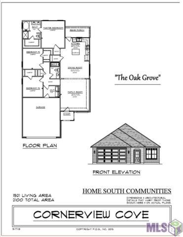 664 Pine Hollow Dr, Gonzales, LA 70737 (#2018008437) :: David Landry Real Estate
