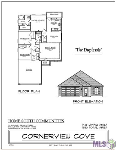 628 Pine Hollow Dr, Gonzales, LA 70737 (#2018008446) :: David Landry Real Estate