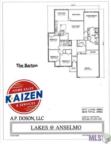 6843 Kodiak Dr, Baton Rouge, LA 70810 (#2018015663) :: Smart Move Real Estate