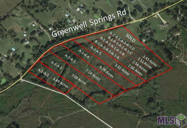 A2A3 Greenwell Springs Rd, Greenwell Springs, LA 70739 (#2018018823) :: Darren James & Associates powered by eXp Realty