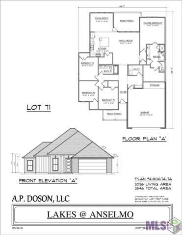 LOT 73 Kodiak Dr, Baton Rouge, LA 70810 (#2018019226) :: Patton Brantley Realty Group
