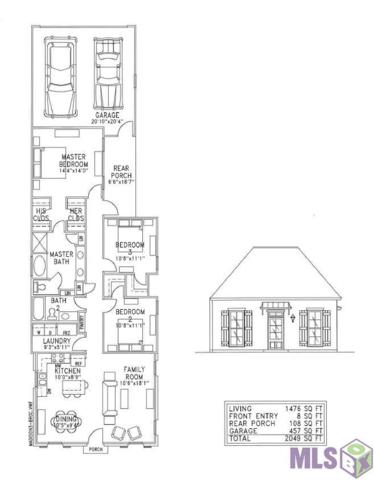 Lot 39 Pirates Alley, Central, LA 70818 (#2019000486) :: The W Group with Berkshire Hathaway HomeServices United Properties