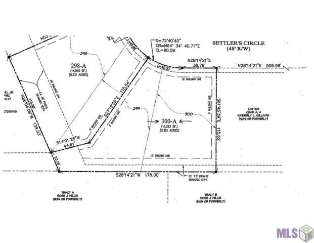 Lot 300-A Settlers Cir, Baton Rouge, LA 70810 (#2019003086) :: David Landry Real Estate