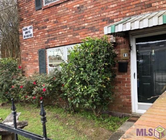 1701 Lobdell Ave #81, Baton Rouge, LA 70809 (#2019005213) :: Patton Brantley Realty Group