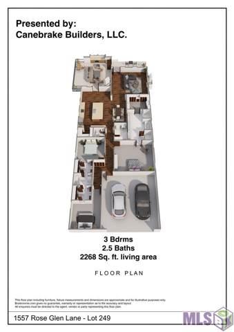 1557 Rose Glen Ln, Baton Rouge, LA 70810 (#2020000517) :: Patton Brantley Realty Group