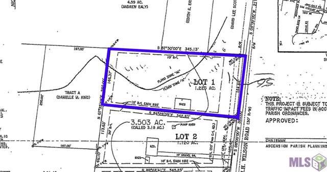 Lot 1 H H Wilson Rd, Prairieville, LA 70769 (#2020000917) :: Darren James & Associates powered by eXp Realty