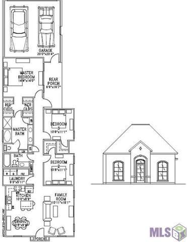 12839 Finn Way, Central, LA 70818 (#2020004023) :: David Landry Real Estate