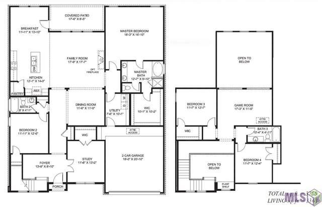 33924 Kingfisher St, Denham Springs, LA 70706 (#2020005410) :: Darren James & Associates powered by eXp Realty