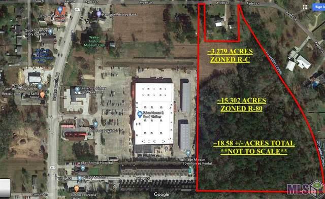 18.58 acres Aydell Ln, Walker, LA 70785 (#2020007769) :: Smart Move Real Estate