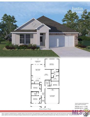 14041 Bellacosa Ave, Baton Rouge, LA 70817 (#2020017776) :: Patton Brantley Realty Group