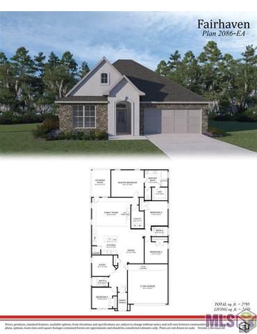 4517 Mendocino Way, Baton Rouge, LA 70817 (#2020018206) :: Patton Brantley Realty Group
