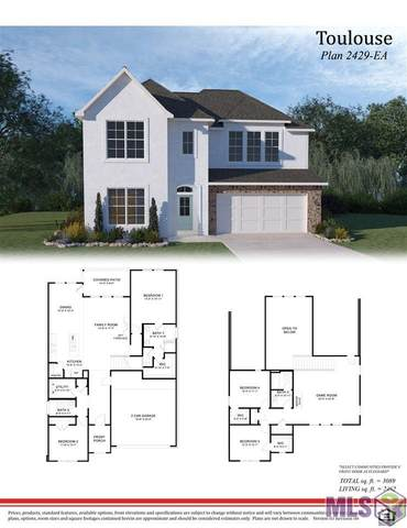 13908 Bellacosa Ave, Baton Rouge, LA 70817 (#2021000485) :: Darren James & Associates powered by eXp Realty