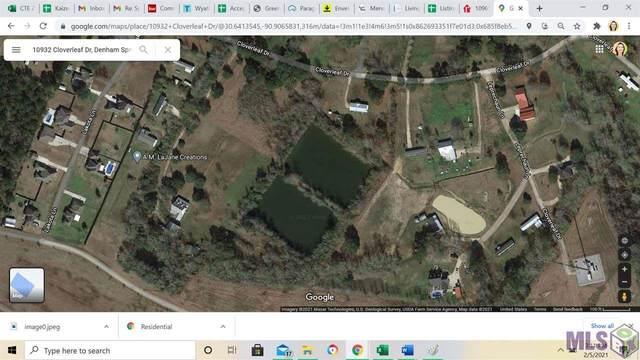 10932 Cloverleaf Dr, Denham Springs, LA 70706 (#2021001873) :: The W Group