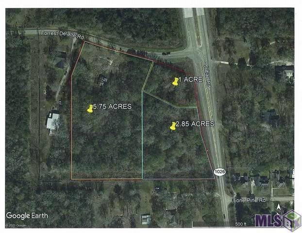 9.6 acres Juban Rd, Denham Springs, LA 70726 (#2021003729) :: David Landry Real Estate