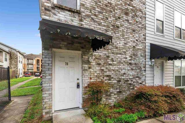 5149 Nicholson Dr #76, Baton Rouge, LA 70820 (#2021004494) :: Smart Move Real Estate